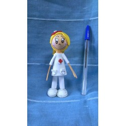 Fofucha Enfermera Broche